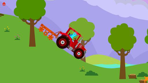 Dinosaur Farm - Tractor simulator games for kids screenshots 6