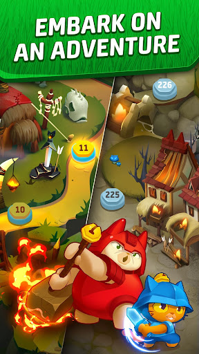 Cat Force - Free Puzzle Game screenshots 4