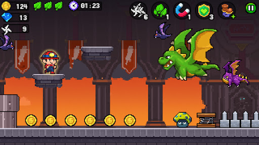 Pixel World - Super Run  screenshots 12
