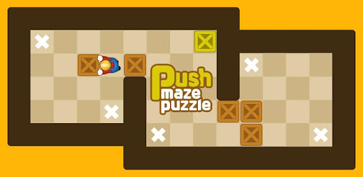 Screenshot of Push Maze Puzzle