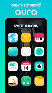 Aura Icon Pack - Rounded Square Icons 6.4 (Patched)