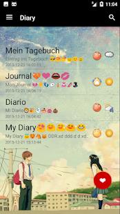 Diary App with Password free