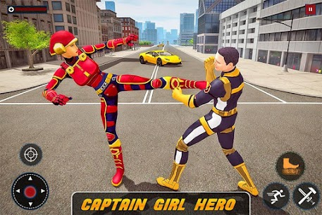 Captain Girl Hero Robot For Pc 2020 – (Windows 7, 8, 10 And Mac) Free Download 1