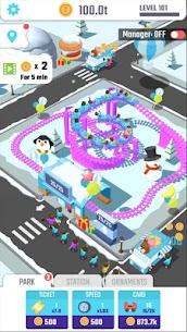 Idle Roller Coaster MOD APK (MOD, Unlimited Coins) 5