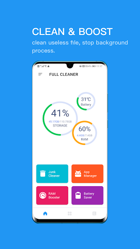 Full Cleaner:Easily save space  screenshots 1