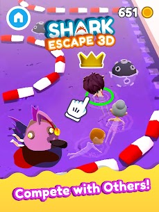 Shark Escape 3D – Swim Fast! MOD APK 1.0.99 (Unlimited Money) 9