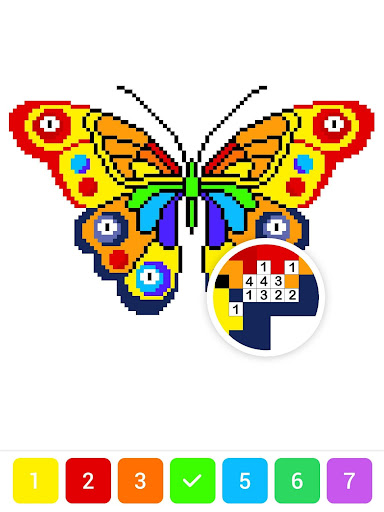 Draw.ly - Color by Number Pixel Art Magic Coloring 3.0.9 screenshots 13