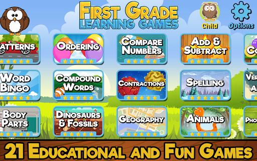 First Grade Learning Games 5.2 screenshots 1