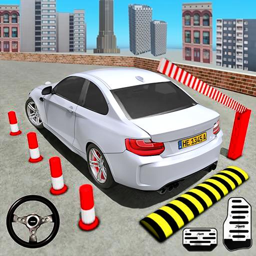 Modern Car Parking Games: Car Stunts Parking Jam