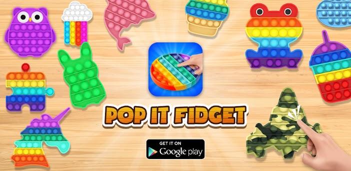 Pop It Fidget 3D