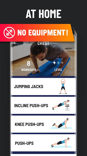 Home Workout – No Equipment