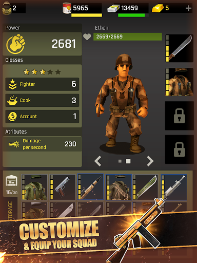 Last War: Shelter Heroes. Survival game android2mod screenshots 9