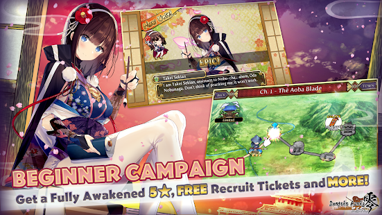 Sengoku Asuka ZERO (Anime Girls x Samurai x RPG) screenshots 1
