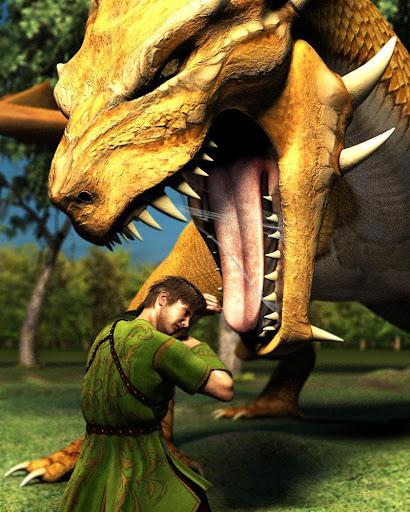 Fire Flying Dragon Simulator Warrior Sky Rider 3D  screenshots 14