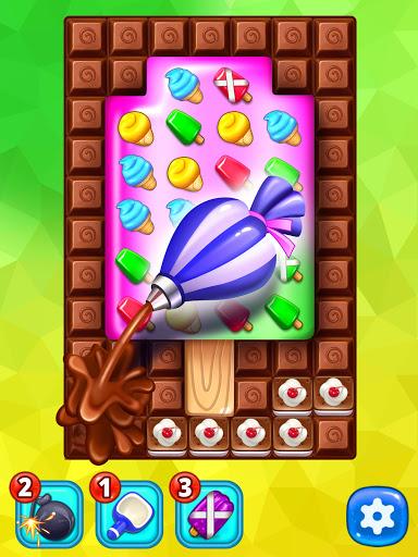 Ice Cream Paradise - Match 3 Puzzle Adventure Apkfinish screenshots 16