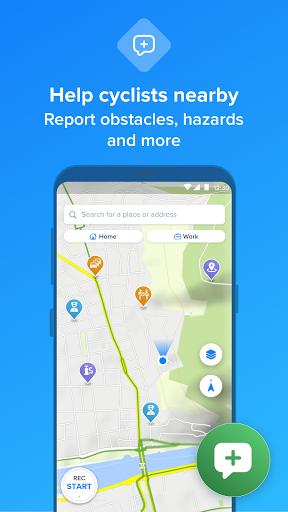 Bikemap - Your Cycling Map & GPS Navigation screenshots 8
