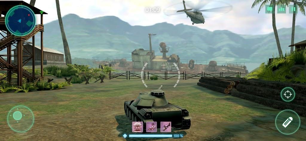 War Machines: Tank Army Game poster 6