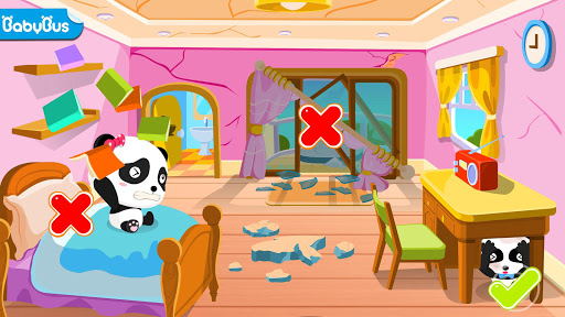 Little Panda Earthquake Safety  screenshots 1