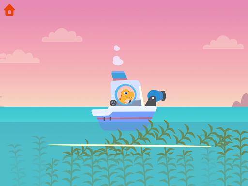 Dinosaur Patrol Boat - Coast Guard Games for kids apkmr screenshots 12