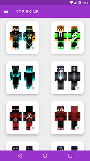 PvP Skins for Minecraft PE android2mod screenshots 11