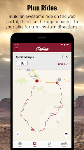 indian motorcycle ride command screenshot 2