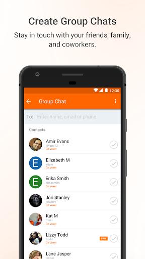 Voxer Walkie Talkie Messenger 3.18.20.21541 screenshots 5