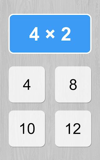 multiplication table game screenshot 2