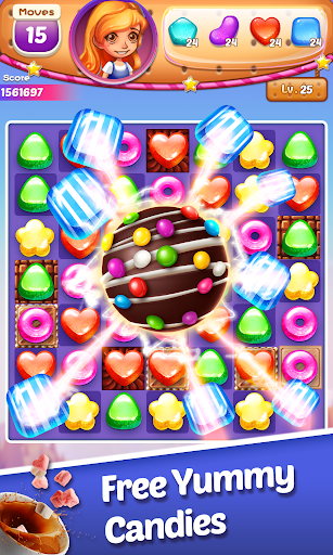 Sweet Cookie -2021 Match Puzzle Free Game  screenshots 1