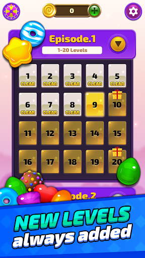 Sugar Land - Sweet Match 3 Puzzle apkpoly screenshots 1
