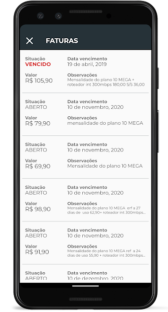 IspJet Mobile screenshot 12