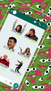 Memes con Frases Stickers en Español para WhatsApp Screenshot