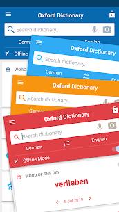 Oxford German Dictionary Premium Cracked APK 4