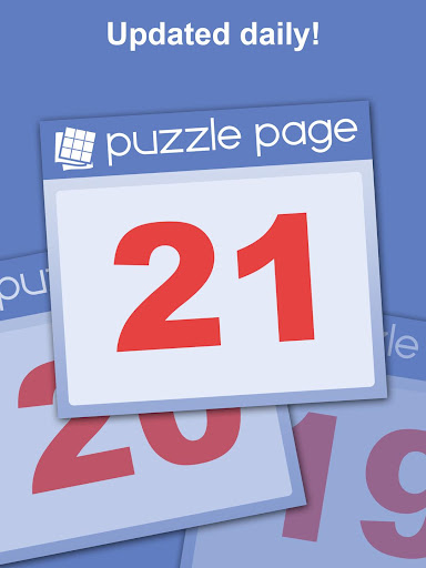 Puzzle Page - Crossword, Sudoku, Picross and more 3.62 screenshots 18