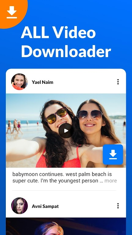 Video Downloader, Fast Video Downloader App poster 1