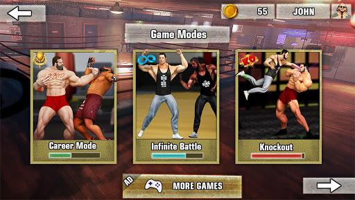 Bodybuilder Fighting Games: Gym Trainers Fight  screenshots 4