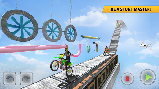 Bike Stunt Racing 3D Bike Games - Free Games 2021 apklade screenshots 1