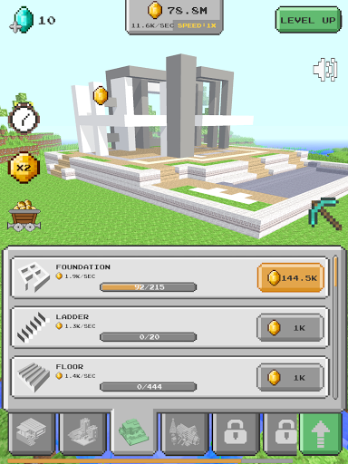 House Craft 3D - Idle Block Building Game screenshots 12