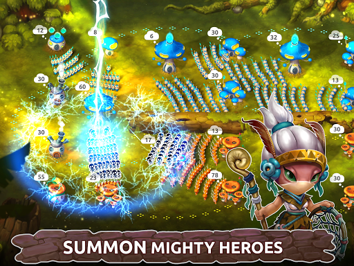 Mushroom Wars 2: Real-time war strategy ud83cudf44 Defense  screenshots 8