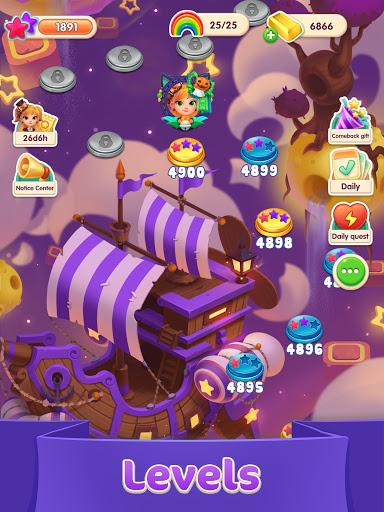 Jellipop Match-Decorate your dream islanduff01 7.8.6 screenshots 8