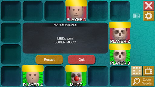 mad or med: deduction party game with words! screenshot 3