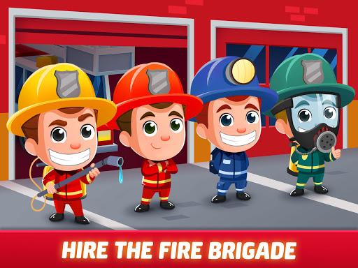Idle Firefighter Tycoon - Fire Emergency Manager apktram screenshots 20