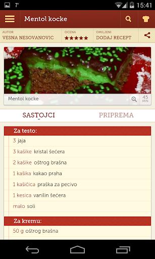 Recepti - Kuvar 1.0.11 Screenshots 4