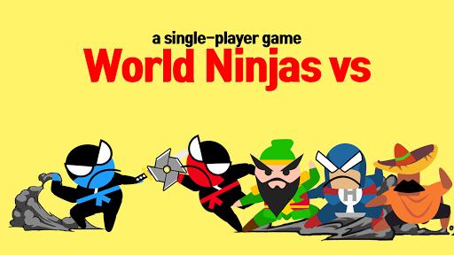 Jumping Ninja Battle - Two Player battle Action 3.98 screenshots 14