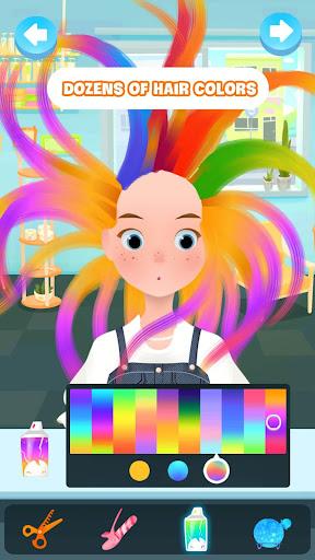 Hair salon games : Hair styles and Hairdresser apkdebit screenshots 1