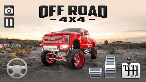 Off-Road Pickup Truck Hill Driving Simulator 2021  screenshots 1