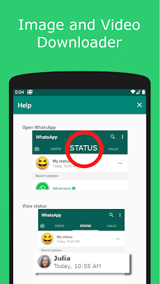 Saver for WhatsAppのおすすめ画像2
