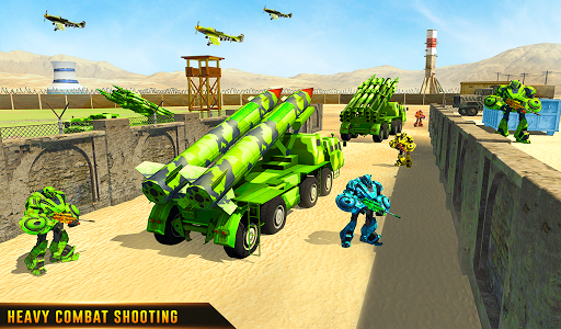 US Army Robot Missile Attack: Truck Robot Games 23 Screenshots 21