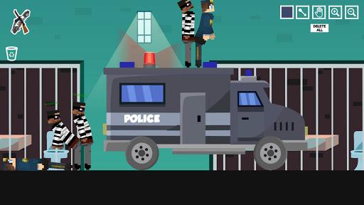 Policeman Jail Playground: Ragdoll Thief  screenshots 2