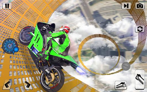 Bike Impossible Tracks Race: 3D Motorcycle Stunts  Screenshots 9