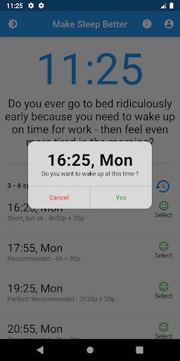 Make sleep better  screenshots 2